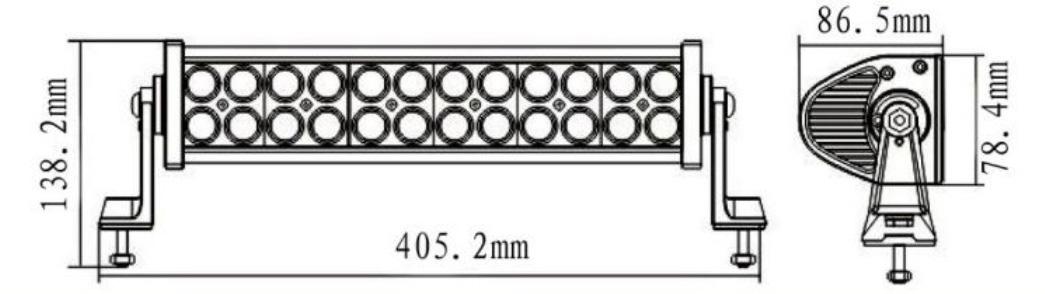kll82-72w led 长条灯 led汽车灯 佛山克莱汽车照明,.